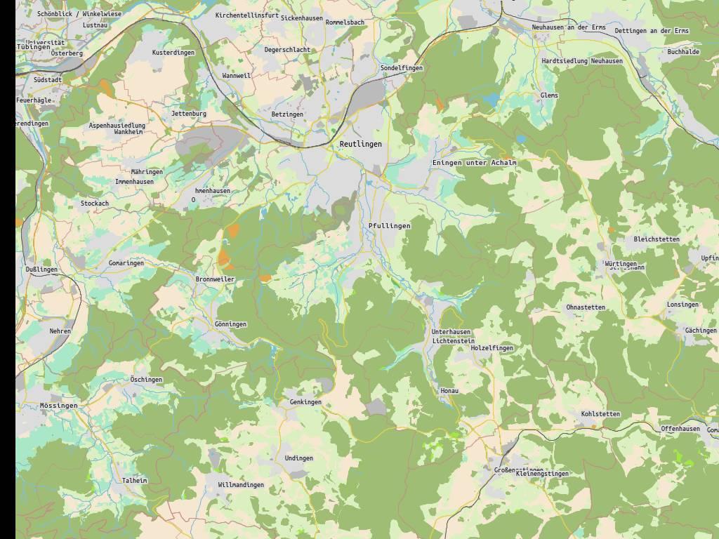 Konstanz Industriegebiet . 